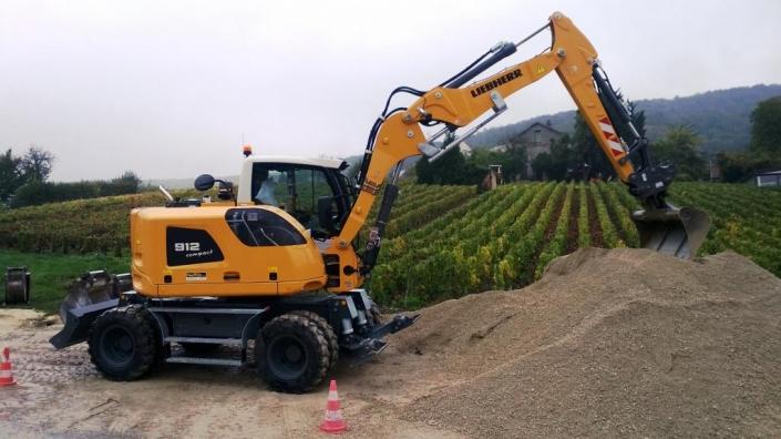 Aluguer de máquinas para movimento de terras